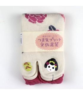 Calcetines TABI Deco Maiko mujer 36-39